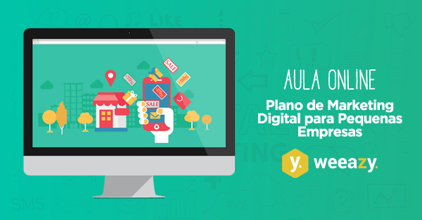 Aula Online de Plano de Marketing Digital Básico para Pequenas Empresas